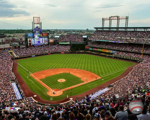 "Colorado Rockies Coors Field MLB Baseball 8"" x 10"" Photo"