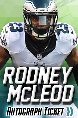 Rodney McLeod Experience Tickets - Dynasty Sports & Framing