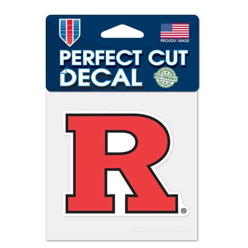 "Rutgers Scarlet Knights NCAA College 4"" x 4"" Decal - Dynasty Sports & Framing"