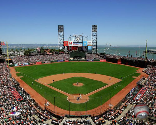 "San Francisco Giants AT&T Park MLB Baseball 8"" x 10"" Stadium Photo - Dynasty Sports & Framing"