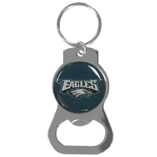 Philadelphia Eagles Logo Bottle Opener Keychain - Dynasty Sports & Framing