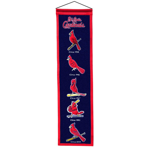 St. Louis Cardinals MLB Heritage Banner