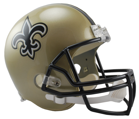 New Orleans Saints NFL Full-Size Helmet Replica - Dynasty Sports & Framing