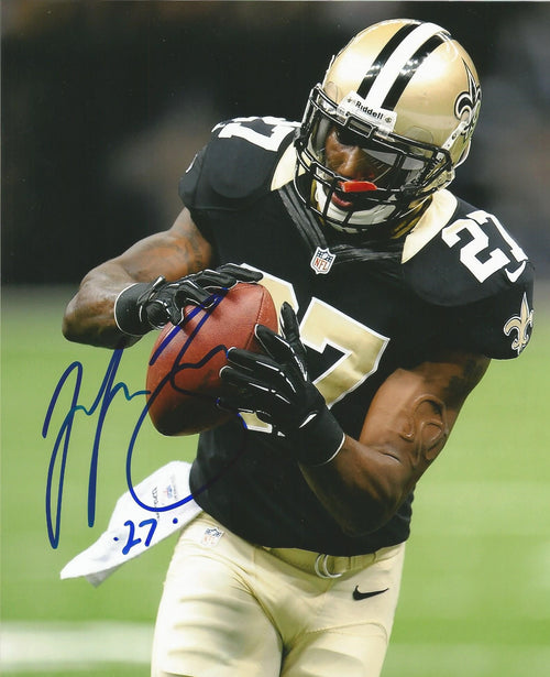 "Malcolm Jenkins in Action New Orleans Saints NFL Football Autographed 8"" x 10"" Photo"