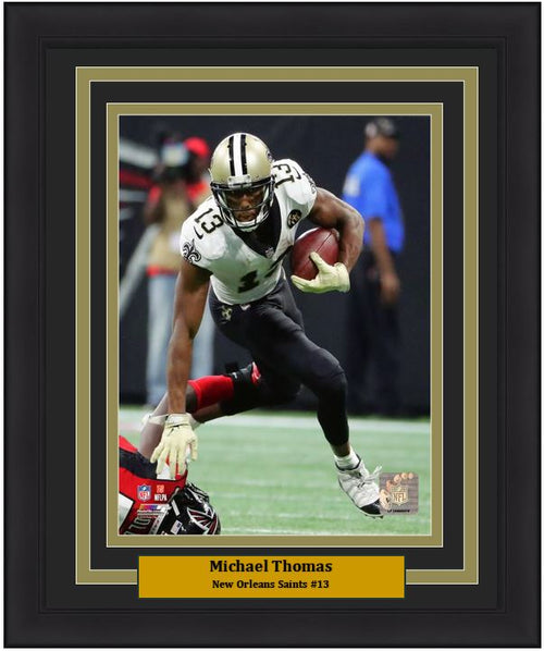 "Michael Thomas New Orleans Saints NFL Football 8"" x 10"" Framed and Matted Photo"