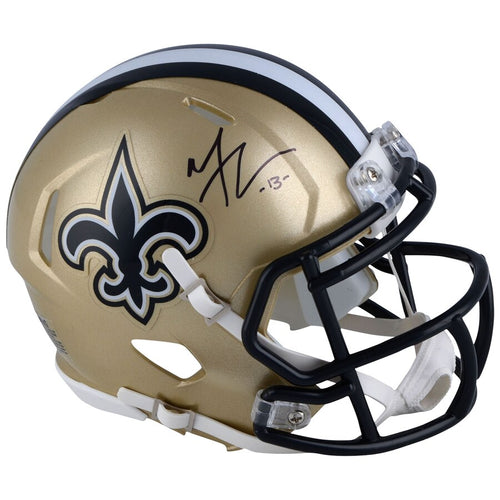 Michael Thomas New Orleans Saints Autographed NFL Football Speed Mini-Helmet