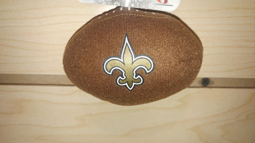 New Orleans Saints Plush Football Ornament