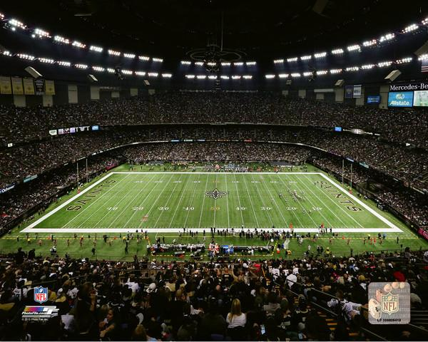 Mercedes Benz Superdome Stadium Sign Home of the New Orleans Saints
