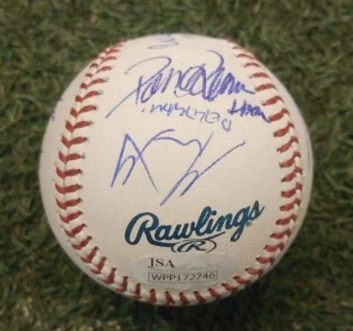 The Sandlot Autographed Official MLB Baseball - Signed by 10 Movie Cast Members - Dynasty Sports & Framing