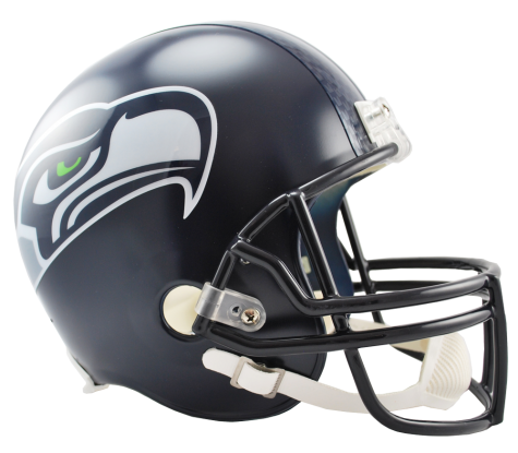 Seattle Seahawks NFL Full-Size Helmet Replica - Dynasty Sports & Framing