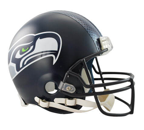 Seattle Seahawks Authentic NFL Full-Size Helmet - Dynasty Sports & Framing