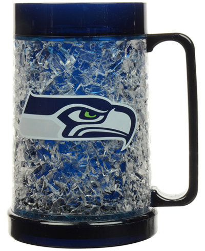 Seattle Seahawks NFL Football Freezer Mug - Dynasty Sports & Framing