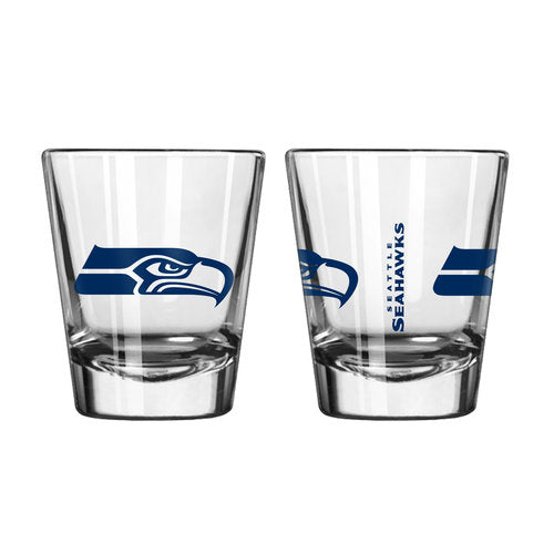 Seattle Seahawks NFL Football Game Day Shot Glass - Dynasty Sports & Framing