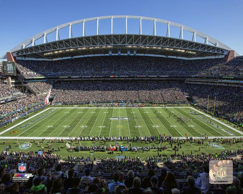 "Seattle Seahawks CenturyLink Field NFL Football Stadium 8"" x 10"" Photo"