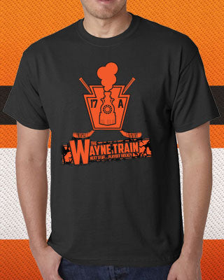 "Philadelphia Flyers NHL Hockey Wayne Simmonds ""Wayne Train"" Youth T-Shirt (Dynasty Sports Exclusive) - Dynasty Sports & Framing"