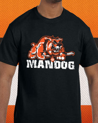 Philadelphia Flyers NHL Hockey Brandon Manning MANDOG T-Shirt (Dynasty Sports Exclusive)