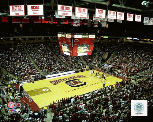 "South Carolina Gamecocks Colonial Life Arena 8"" x 10"" College Basketball Stadium Photo - Dynasty Sports & Framing"