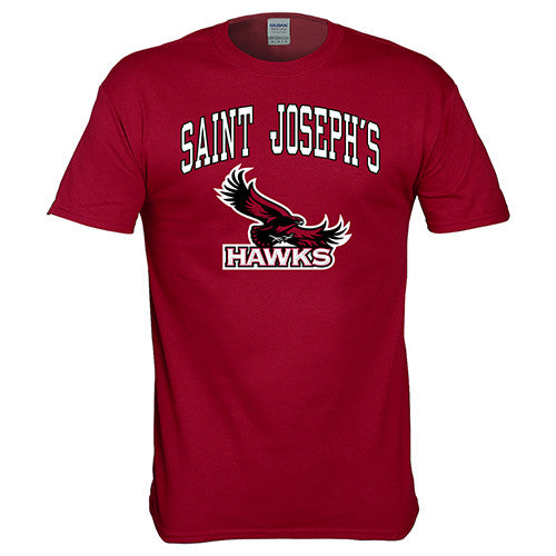 St. Joseph's Hawks NCAA College Pride Mascot T-Shirt - Dynasty Sports & Framing