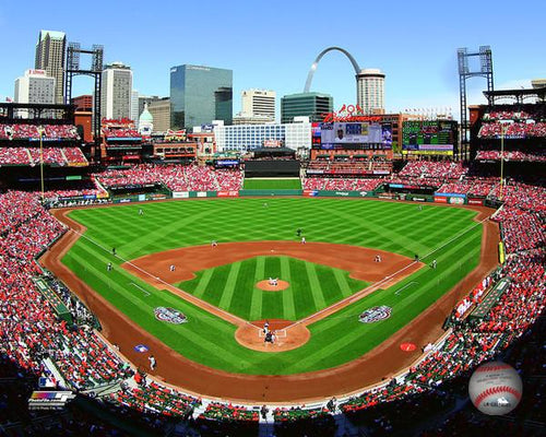 "St. Louis Cardinals Busch Stadium MLB Baseball 8"" x 10"" Photo - Dynasty Sports & Framing"