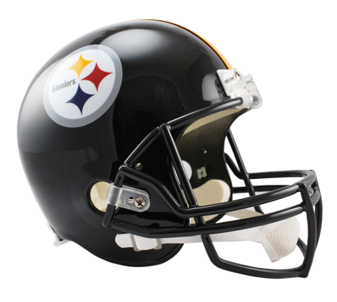 Pittsburgh Steelers NFL Full-Size Helmet Replica - Dynasty Sports & Framing