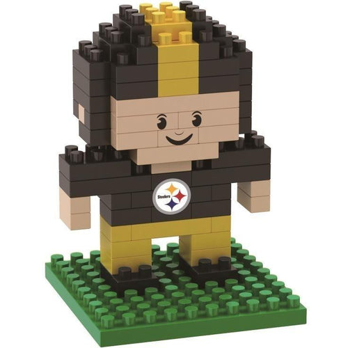 Pittsburgh Steelers 3D Player BRXLZ Puzzle - Dynasty Sports & Framing