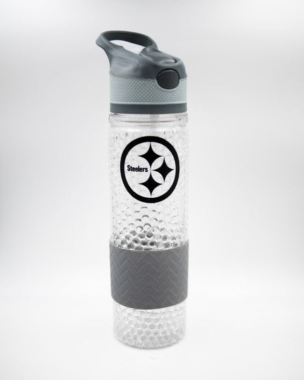 Pittsburgh Steelers NFL Football Tritan Water Bottle - Dynasty Sports & Framing