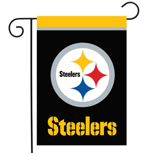 Pittsburgh Steelers Football Garden Flag - Dynasty Sports & Framing