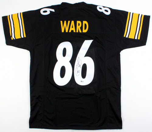 Hines Ward Pittsburgh Steelers Autographed Football Jersey - Dynasty Sports & Framing