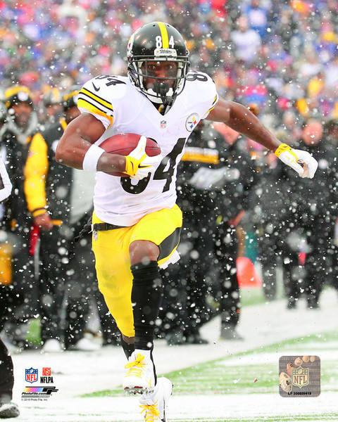 "Pittsburgh Steelers Antonio Brown NFL Football 8"" x 10"" Photo"