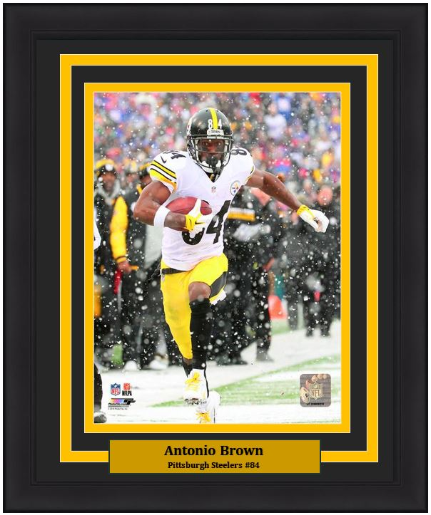 the best attitude 31d7a b6408 Pittsburgh Steelers Antonio Brown NFL Football 8