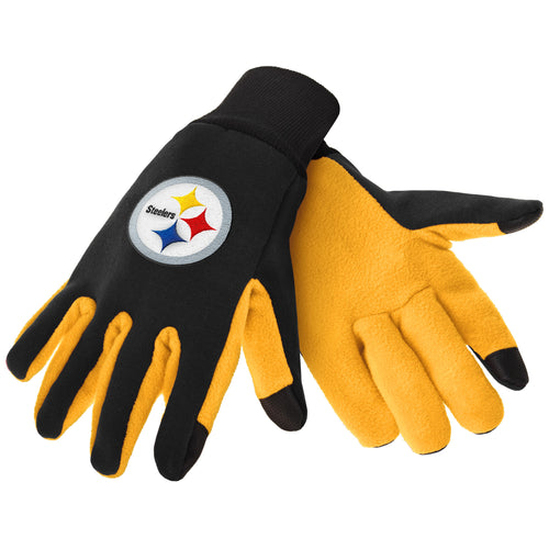 Pittsburgh Steelers NFL Football Texting Gloves