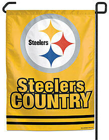 Pittsburgh Steelers NFL Football Steelers Country Small Garden Flag