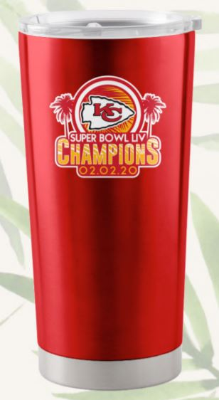 Kansas City Chiefs Super Bowl LIV Champions 20 oz. Ultra Tumbler