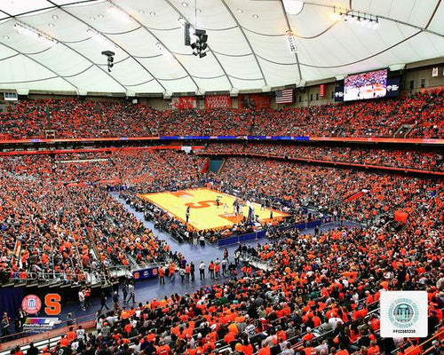 "Syracuse Orange Carrier Dome NCAA College Basketball Stadium 8"" x 10"" Photo - Dynasty Sports & Framing"
