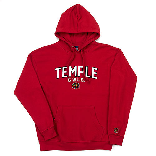 huge selection of 394ae d5c54 Temple University Owls NCAA College Double Time Hoodie