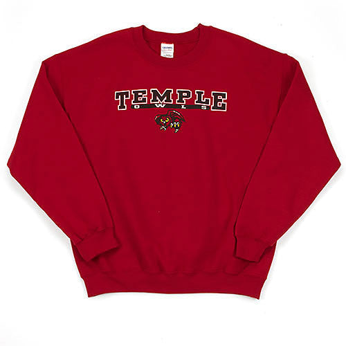 Temple University Long-Sleeve Black Script T-Shirt - Dynasty Sports & Framing
