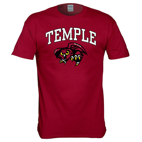 Temple University Owls NCAA College Pride Mascot T-Shirt - Dynasty Sports & Framing