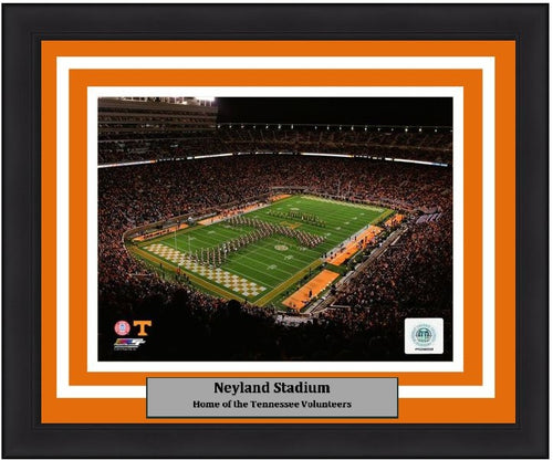 "Tennessee Volunteers Neyland Stadium NCAA College Football 8"" x 10"" Framed and Matted Photo"
