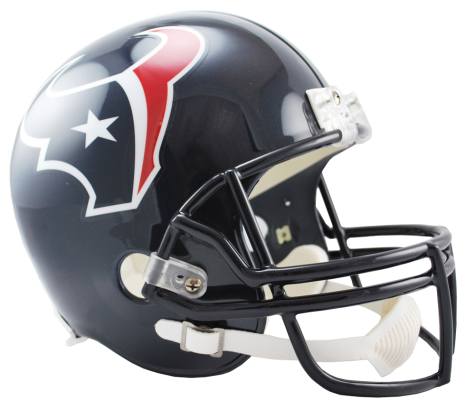 Houston Texans NFL Full-Size Helmet Replica - Dynasty Sports & Framing