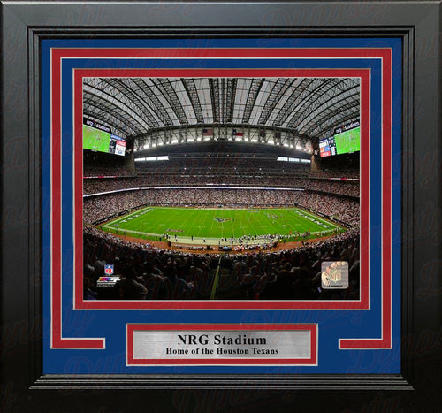 "Houston Texans NRG Stadium NFL Football 8"" x 10"" Framed Photo - Dynasty Sports & Framing"