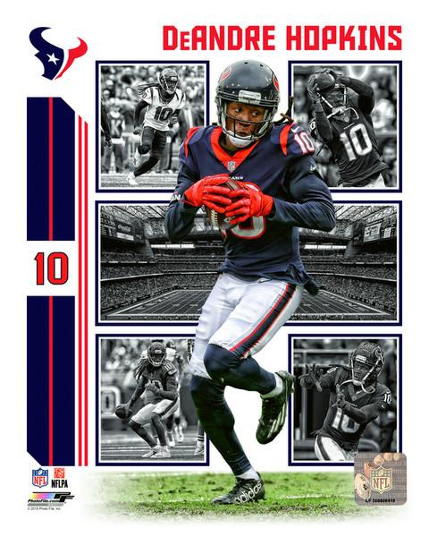 "DeAndre Hopkins Player Collage Houston Texans NFL Football 8"" x 10"" Photo"