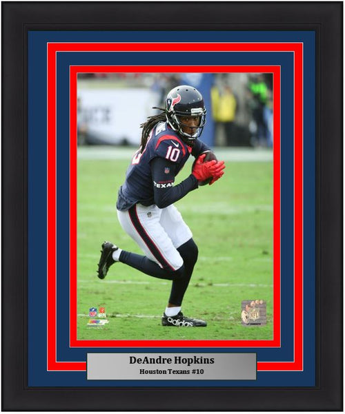 "DeAndre Hopkins Houston Texans NFL Football 8"" x 10"" Framed and Matted Photo - Dynasty Sports & Framing"