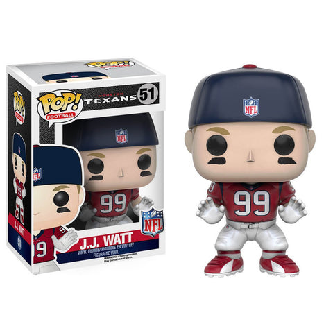 Houston Texans JJ Watt Funko Pop! NFL Series 3 Vinyl Figure - Dynasty Sports & Framing