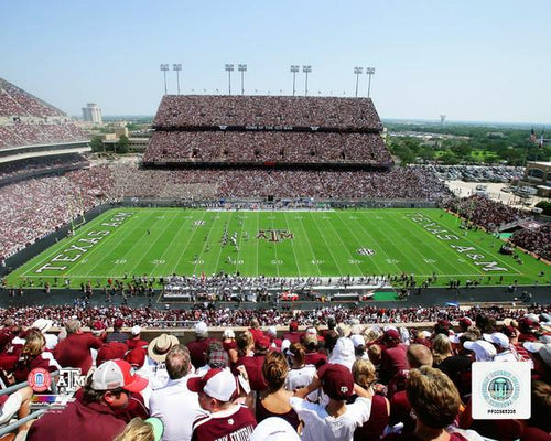 "Texas A&M Aggies Kyle Field NCAA College Football Stadium 8"" x 10"" Photo - Dynasty Sports & Framing"