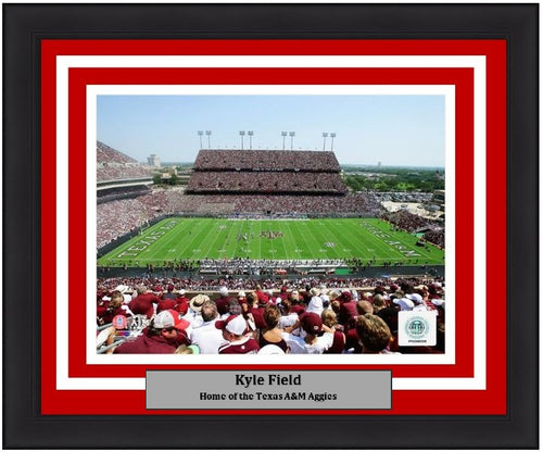 "Texas A&M Aggies Kyle Field NCAA College Football Stadium 8"" x 10"" Framed and Matted Photo"