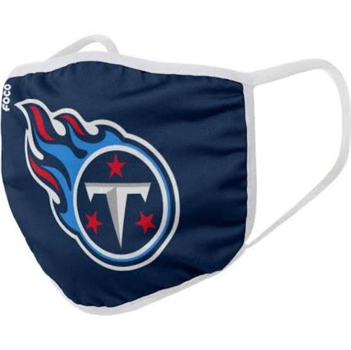 Tennessee Titans Solid Big Logo Face Cover Mask