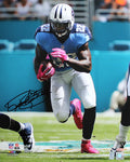 "Derrick Henry Tennessee Titans Autographed NFL Football 16"" x 20"" Photo"