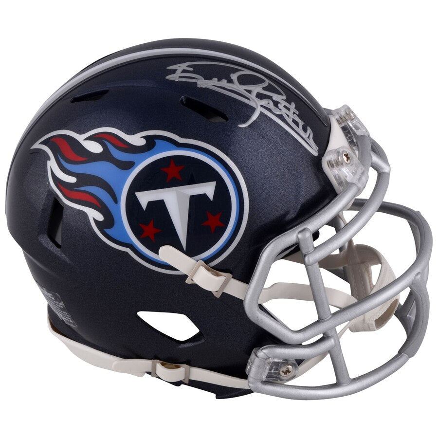 sneakers for cheap 47fb1 9c115 Derrick Henry Tennessee Titans Autographed NFL Football Speed Mini-Helmet