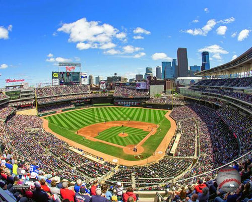 "Minnesota Twins Target Field MLB Baseball 8"" x 10"" Stadium Photo - Dynasty Sports & Framing"
