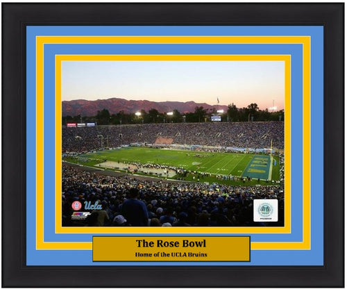 "UCLA Bruins Rose Bowl NCAA College Football Stadium 8"" x 10"" Framed and Matted Photo"